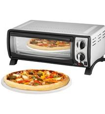 Efbe-Schott MBO1000 Pizzaoven 1400W 13L RVS/Zwart