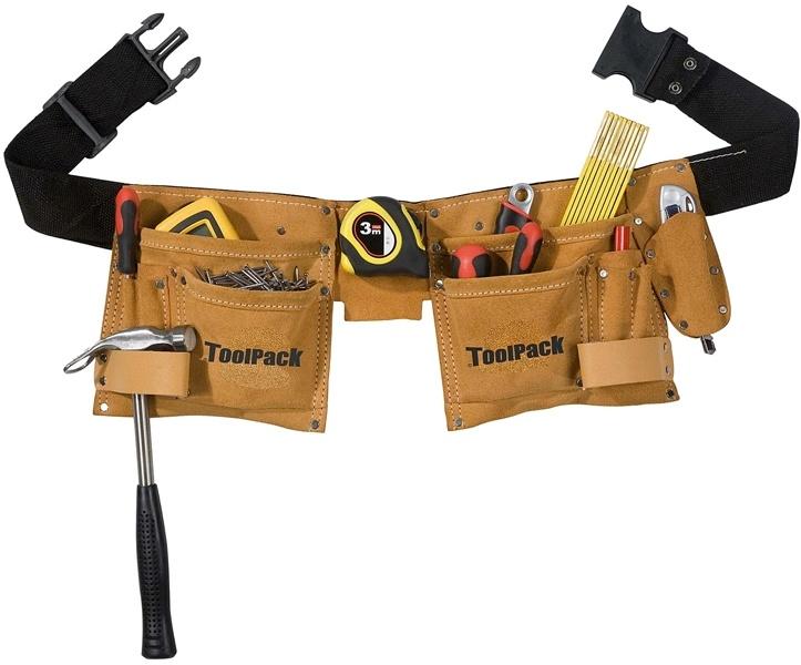 ToolPack Gereedschapgordel met 2 houders