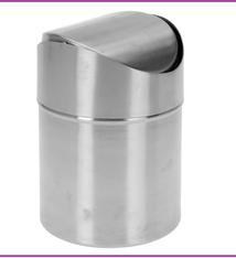 Excellent Houseware Tafelafvalbakje 1.5 liter - RVS