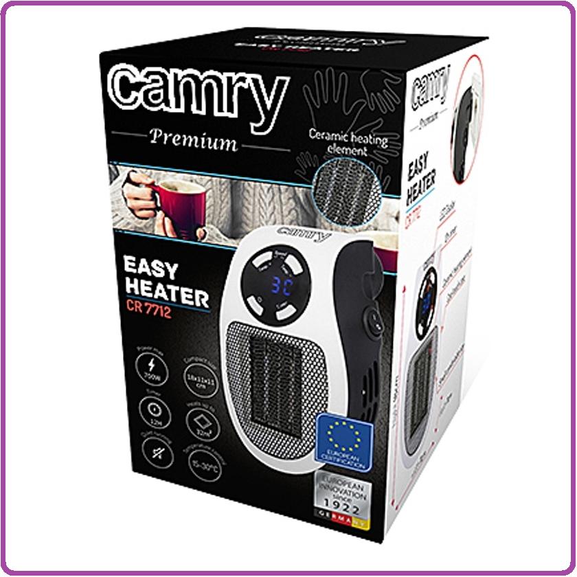 Camry Stopcontact  Heater - 700W