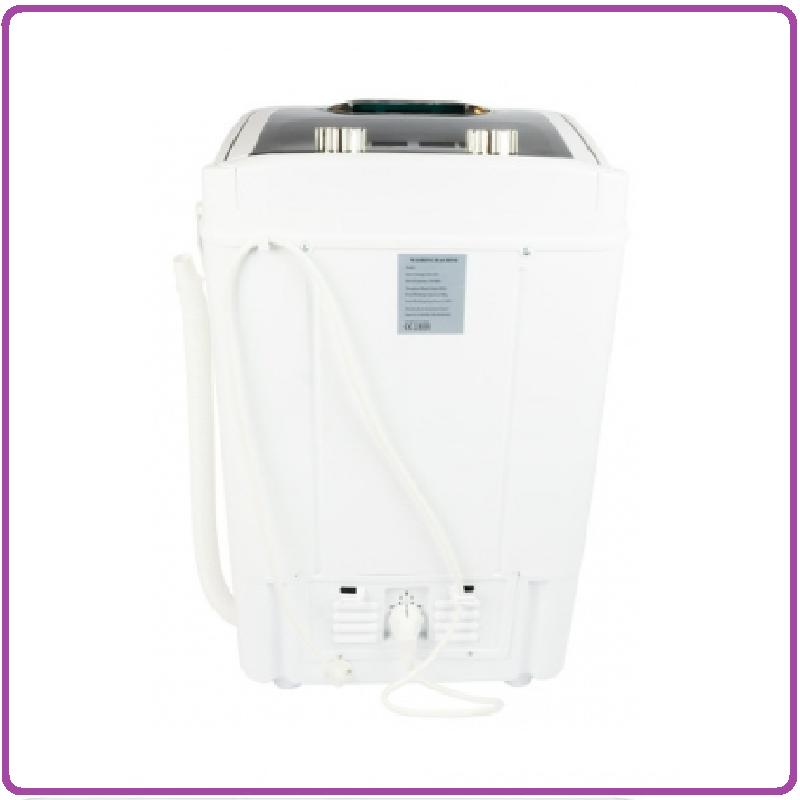 Salora WMR5350 Mini Wasmachine Zwart/Wit