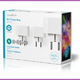 Nedis WIFIP130FWT3 Wi-fi Smart Plug Schuko Type F 10 A 3-pack