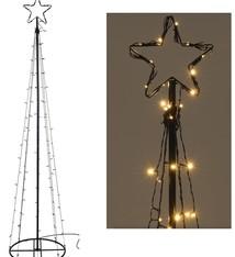 DecorativeLighting Toren met kerstster - 120cm
