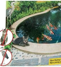 Kinzo Garden Vijverbescherming - 20 drijvende rasters