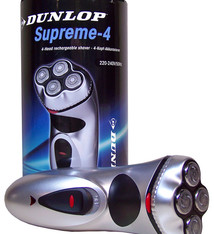 Dunlop Oplaadbaar 4-kops scheerapparaat