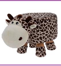 Ceruzo Kinderkruk - 25 cm hoog - giraffe
