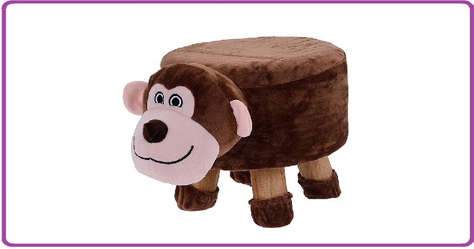 Ceruzo Kinderkruk - 25 cm hoog - aap