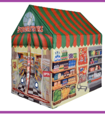 Kinderspeeltent - supermarkt