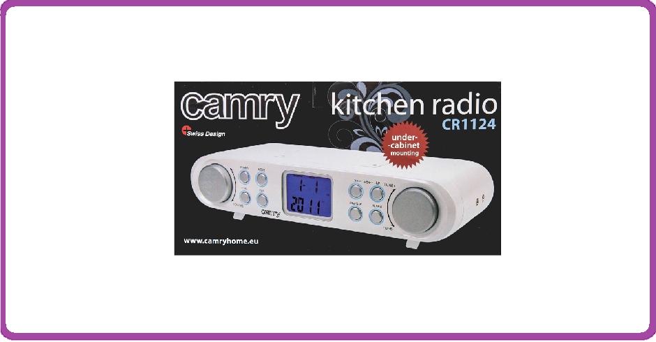 Camry CR1124 - Keukenradio
