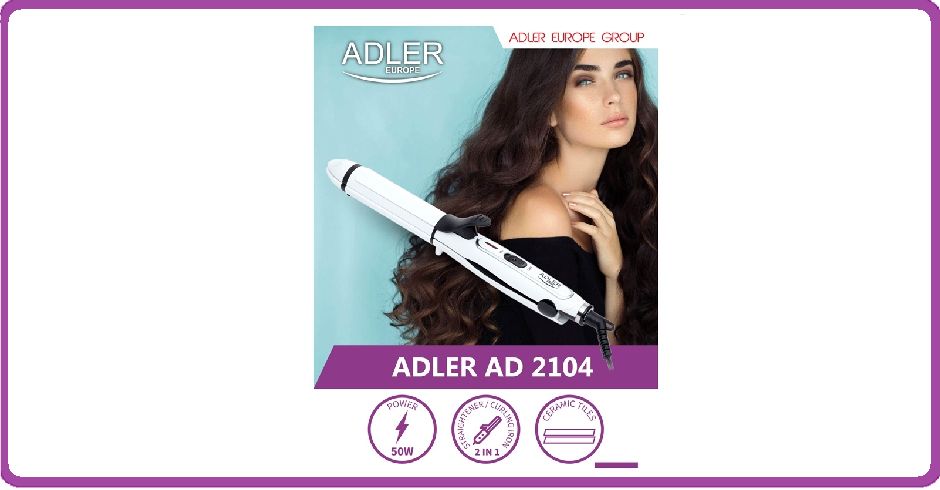 Adler AD2104 - Stijl/krultang