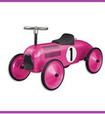 Simply for Kids Simply for Kids Spitfire Loopauto Roze