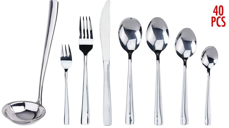 Excellent Houseware Bestekset - 40 delig - 6 persoons