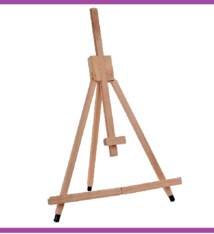 Houten Schildersezel - verstelbaar tot 60cm