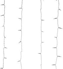 DecorativeLighting Gordijnverlichting - 240LED -  225x150cm - wit