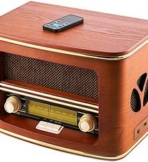 Camry CR1167 - Retro radio-CD-MP3 met Bluetooth