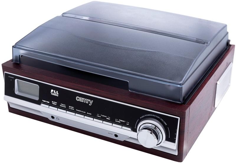 Camry CR1113 - Platenspeler met radio