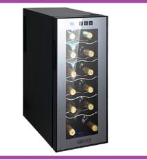 Camry CR8068 - Wijnkoelkast 12 flessen - 33 liter