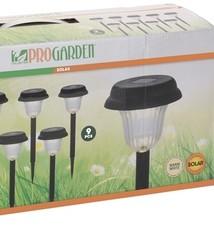 ProGarden Solar LED Tuinverlichting - Set van 9