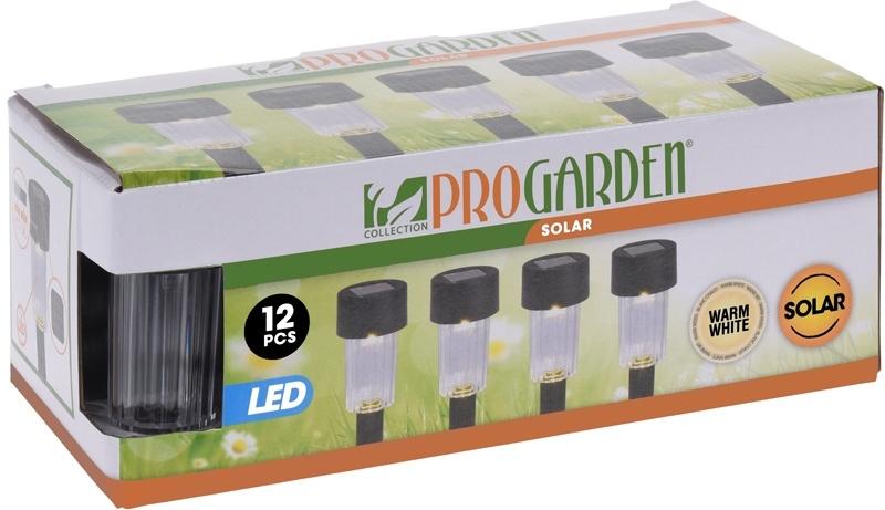 ProGarden Solarlampen LED - 12 stuks