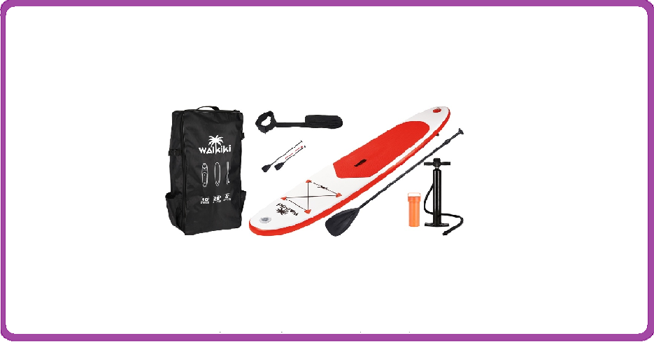 SUP Board Red   - 305 cm - complete set