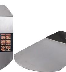 Vaggan Pizza schep - inklapbaar - RVS
