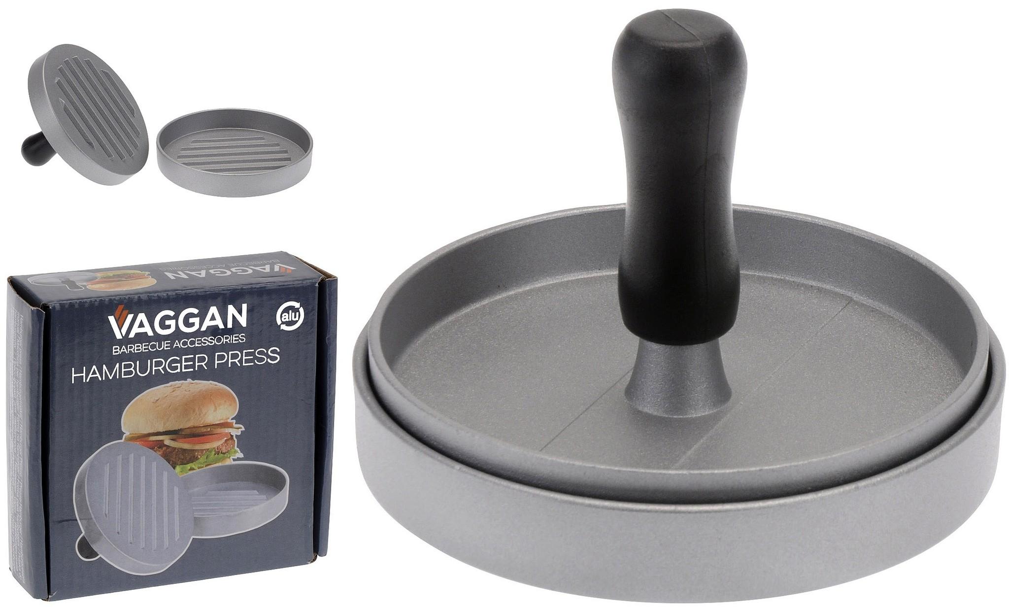 Vaggan Hamburgermaker - aluminium - 11cm