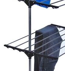 Storage Solutions Droogrek toren - verrijdbaar en inklapbaar - 17 meter drooglengte