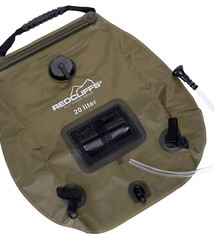 Redcliffs Campingdouche met thermometer - 20 liter - groen