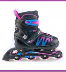 Alert Alert Inline Skates Maat 31-34 Blauw/Roze/Zwart