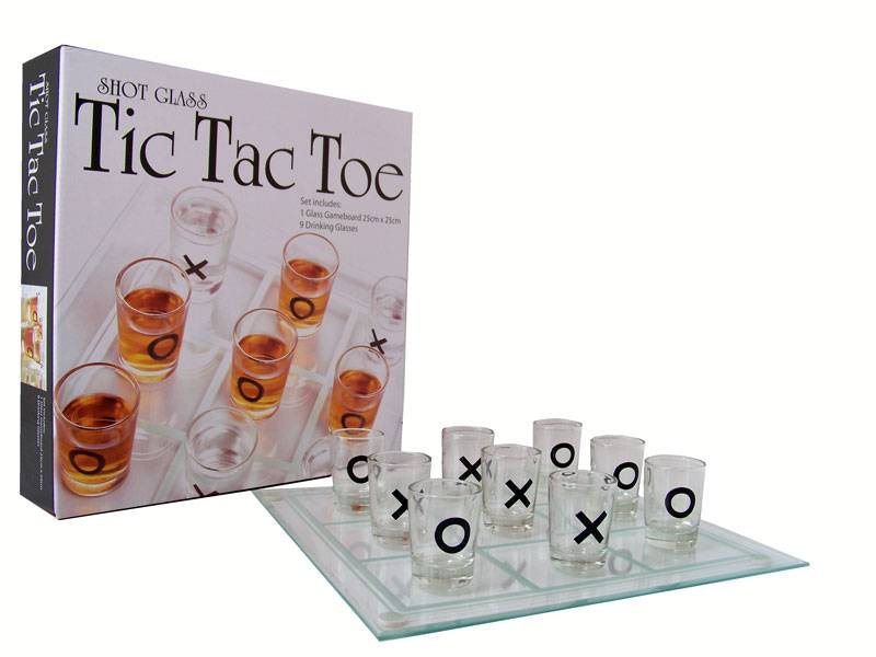 "Drinkspel Tic Tac Toe ""OXO"""
