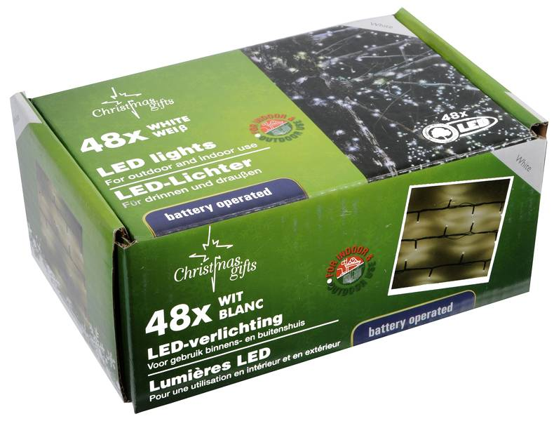 Christmas Gifts Christmas gifts LED Kerstverlichting wit (48 LED's)