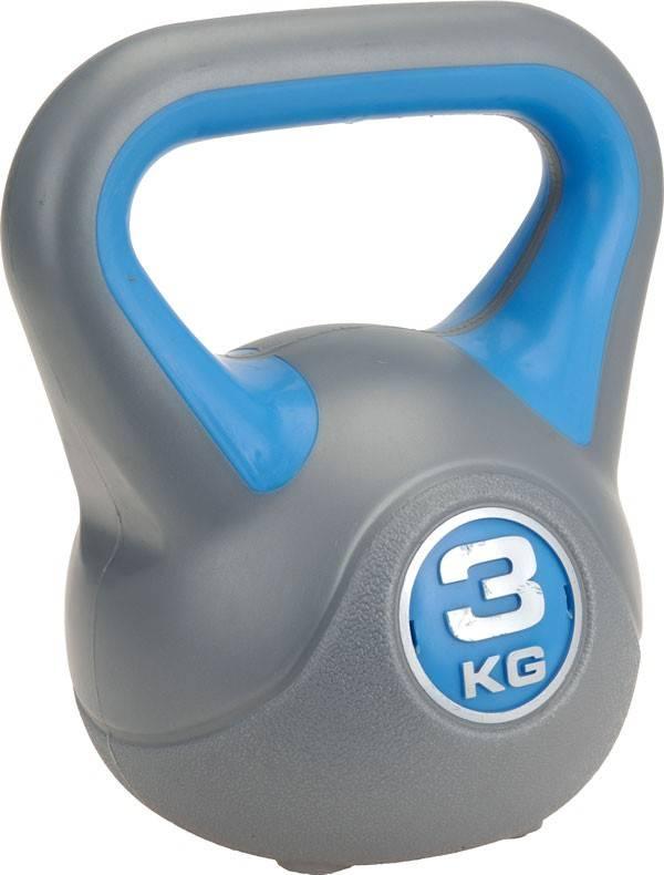 XQ Max Kettlebell plastic 3 kg