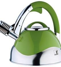 Bergner Microfoon-fluitketel groen