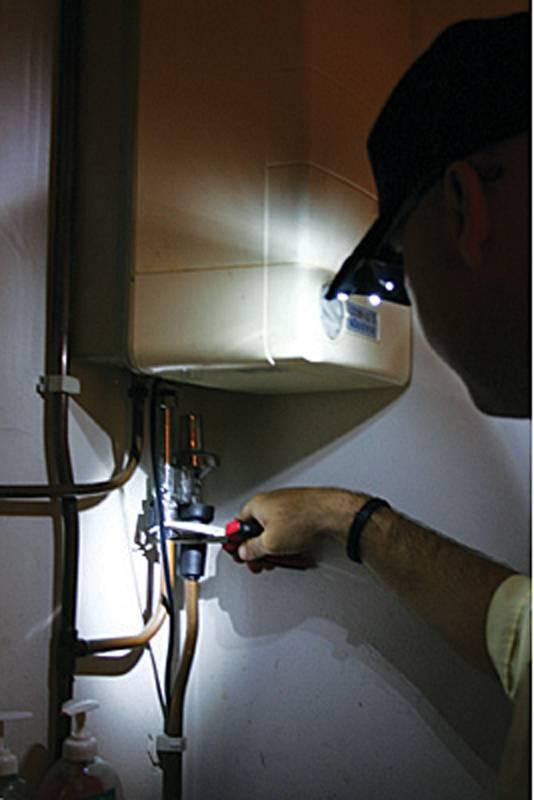 ToolPack  Cap met 2 LED-lampjes
