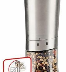 Alpina RVS automatische peper- en zoutmolen