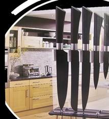 Cuisine Performance Cuisine Teflon messenset met  standaard (6 dlg)