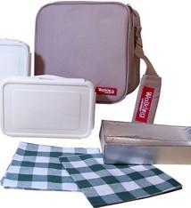 Bergner Lunchtas compleet (grijs)