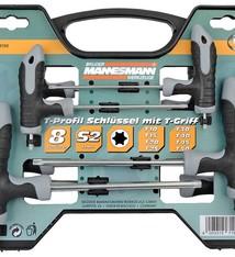 Bruder Mannesmann Torx T-greepset (18 delig) in koffer