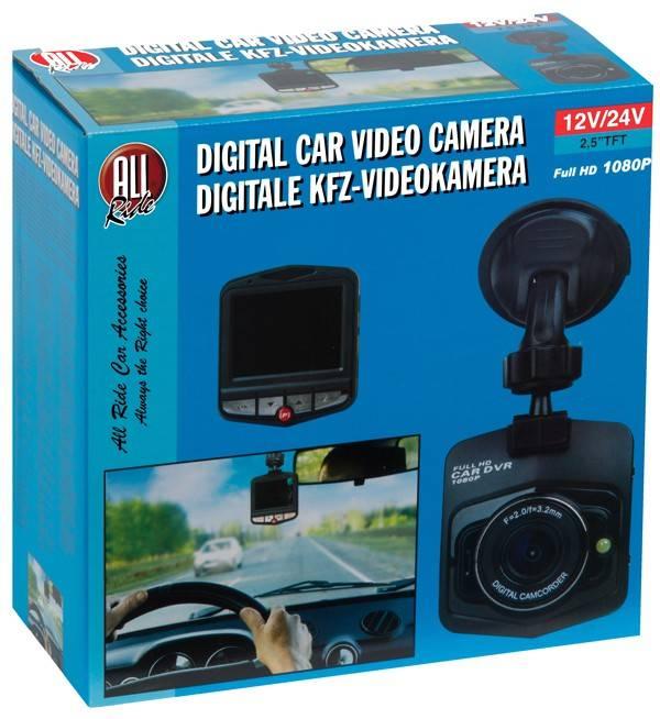 All Ride Digitale autovideo camera, full HD 1080P