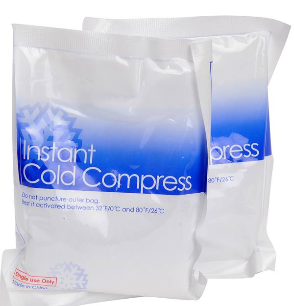 Instant icepack set van 2 stuks