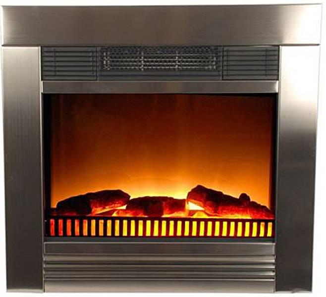 Classic Fire Classic Fire Chicago Elektrische Inbouw Sfeerhaard 1800W Metaal