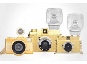 Lomography Diana F+ & Flash Gold
