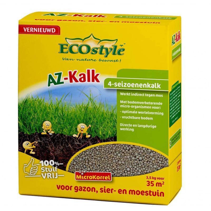 Ecostyle AZ 4-seizoenenkalk 3.5 kg (35 m²)