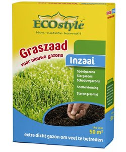 Graszaad-Inzaai 1 kg (50 m²)
