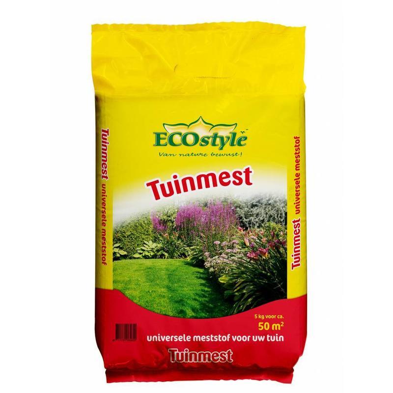 Ecostyle Tuinmest Universeel 5 kg (50 m²)