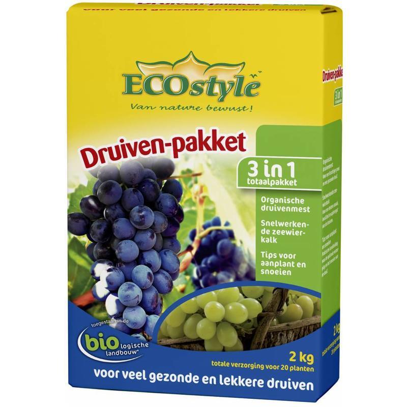Ecostyle Druiven-pakket 2 kg (voor ca. 20 planten)