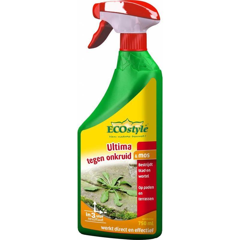 Ecostyle Ultima tegen onkruid & mos 750 ml gebruiksklaar