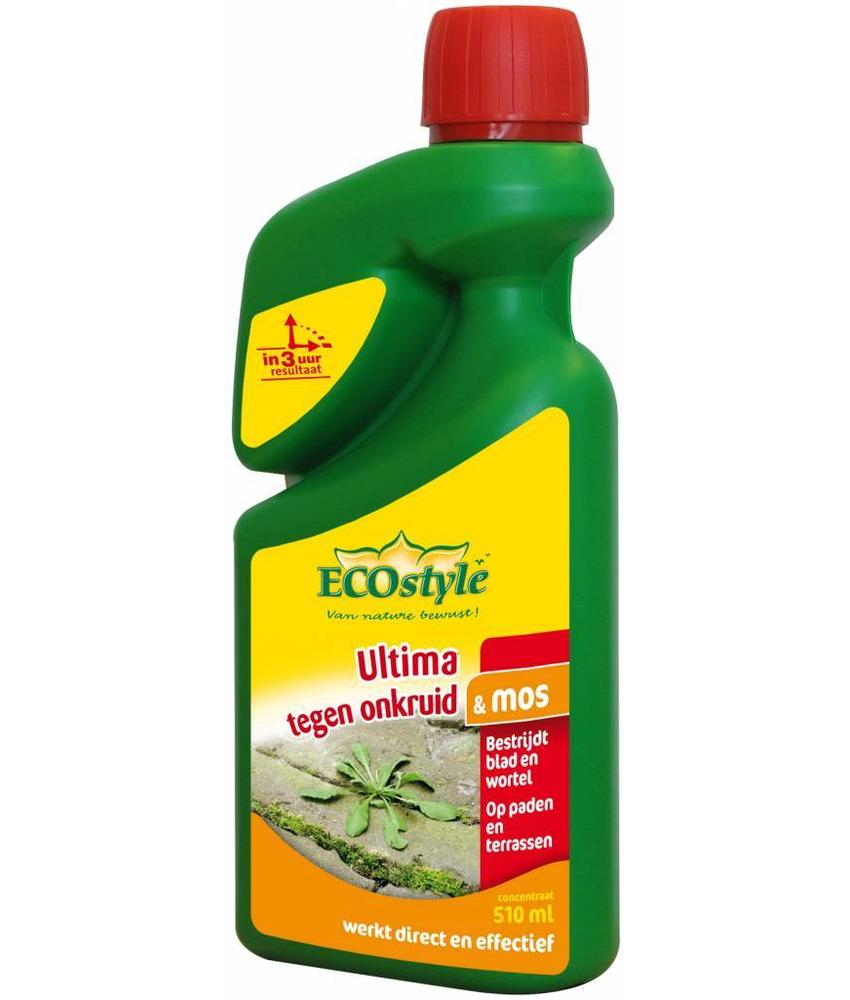 Ecostyle Ultima tegen onkruid & mos 510 ml concentraat