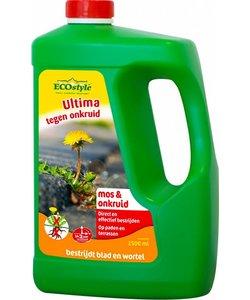 Ultima tegen onkruid & mos 2500 ml concentraat