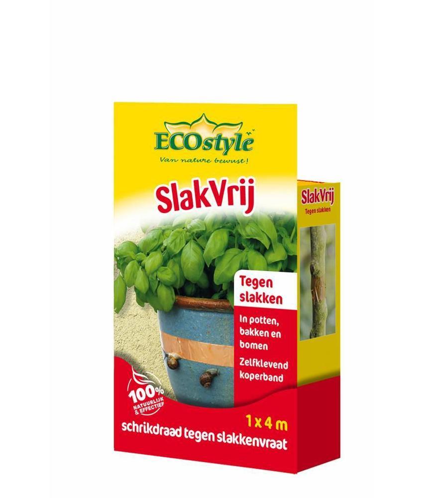 Ecostyle SlakVrij Zelfklevende kopertape tegen slakken